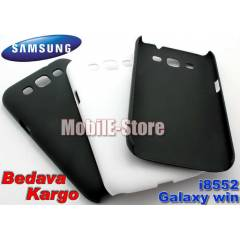 Samsung Galaxy Win i8552 Rubber K�l�f+3XSticker