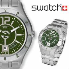 Swatch YTS407G Irony In A Green Mode Bay Saati