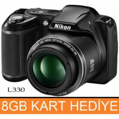 Nikon Coolpix L330 20.2MP HD Foto�raf Makinas�