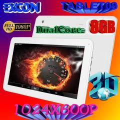 Excon 9 in� �ift �ekirdek Tablet Pc ,Bluetooth 8