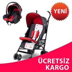 BABY2GO 8832 L�GHT TRAVEL SET KIRMIZI 2014