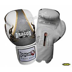 Dragon Big King Boks Ve K�ck-boks Eldiveni White