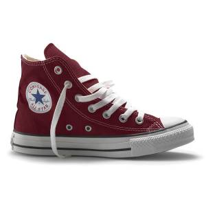 Converse Chuck Taylor All Star Kad�n Bordo Spor