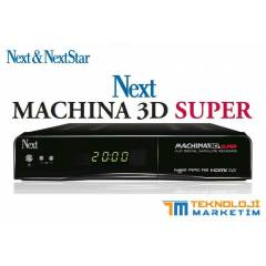 NEXT Machina 3D Super UYDU ALICISI * 2014 Yeni *