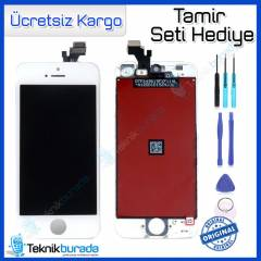 Apple iPhone 5 Orjinal LCD Ekran + Dokunmatik