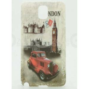 Galaxy Note 3 N9000 London Car K�l�f Kapak