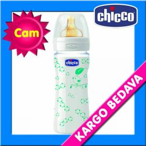 Chicco Desenli Cam Biberon Kau�uk 240 ml