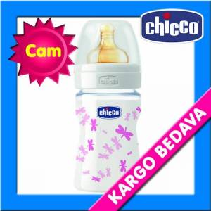 Chicco Desenli Cam Biberon Kau�uk 150 ml K�z