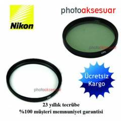 Nikon 18-105mm Lens i�in UV +Polarize Filtre
