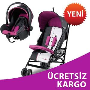 Baby2Go Light Travel Sistem Bebek Arabas� Mor