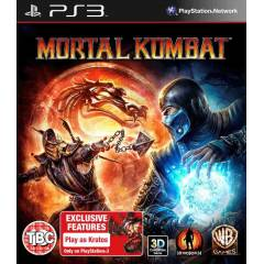 MORTAL KOMBAT 9 3D PS3 OYUNU+�OOOK F�YAT+�ND�R�M