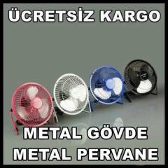Usb Fan Masa�st� Mini Metal G�vde Vantilat�r