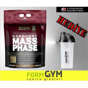 4D Mass Phase 4.5 kg Gainer Dimension + HED�YE
