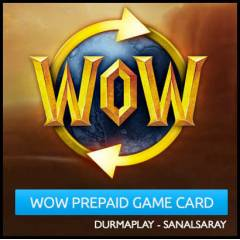 Wow Prepaid 30 g�nl�k Prepaid Game Time Card EU