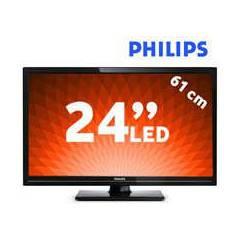 "Philips 24PHH4109 24"" Usbmovie LED TV"