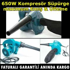 650 WATT Kompres�r S�p�rge maximum Emi�  �fleme