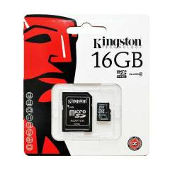 KINGSTON 16GB M�CRO HAFIZA KARTI CLASS10