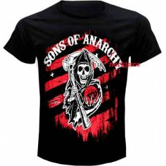 Sons Of Anarchy B�y�k Beden Ti�ort   3xl