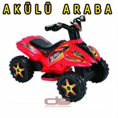 Dolu Quad Raptor 6V Mini Ak�l� Araba Atv Model