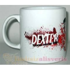 DEXTER KUPA BARDA�I BLOOD NEVER LIES KUPA BARDAK