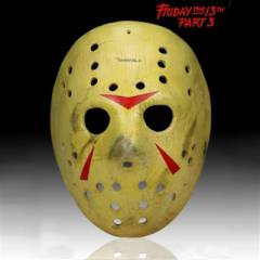 Friday The 13th Part III Jason Replika Maske