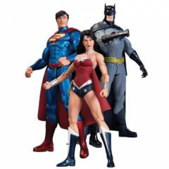 New 52 Superman Batman Wonder Woman 3'l� Set
