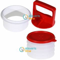 Tupperware Hamburger Press Set (Yeni �r�n)