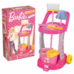 Barbie Temizlik Arabas� Barbie Paspas Mop