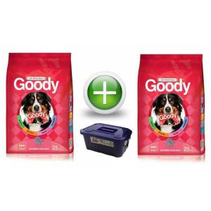 Goody 2,5 kg High Energy K�pek Mamas� 2 Adet+Hed