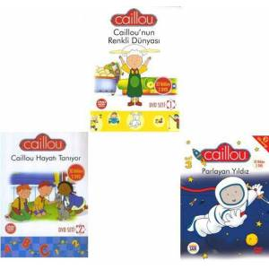 Caillou 3'l� Dvd Set 49,90