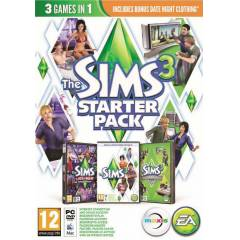 PC The Sims 3 Starter Pack + 3 DLC Origin CD-KEY