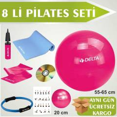 DELTA P�LATES SET� 8 L� PLATES �EMBER� M�NDERL�