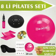 DELTA P�LATES SET� 8 L� PLATES TW�STER KEMERL�