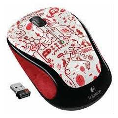 LOGITECH M325 RED SMILE MOUSE 910-003014