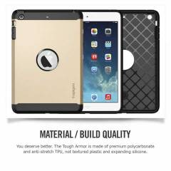 Spigen Tough Armor Series For iPad Mini (GOLD)