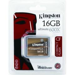 KiNGSTON 16GB 600X ULTIMATE COMPACT FLASH KART