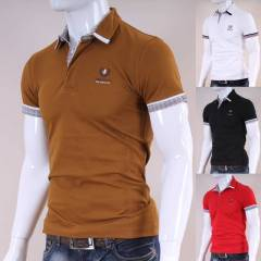 JAPON STYLE Polo Yaka Ti��rt Tshirt New 7337