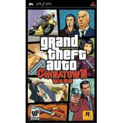 PSP OYUN - GRAND THET AUTO   CHINATOWN WARS