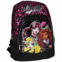 Monster high Kolej okul s�rt �antas� 62443 hakan