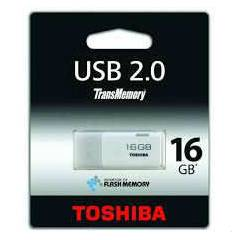 TOSH�BA 16GB THNU16HAY(BL5 USB FLASH BELLEK