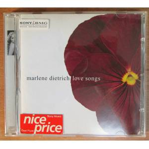 MARLENE DIETRICH - LOVE SONGS - CD 2.EL