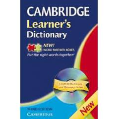 Cambridge Learner's Dictionary with CDROM and Bo