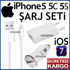 iPhone 5/5C/5S �ARJ ALET� C�HAZI *�OS 7 ��L� SET
