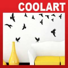 COOLART Duvar Sticker Ku�lar (st616)