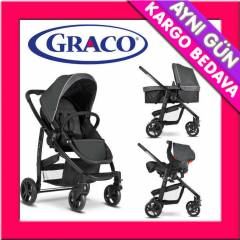 Graco Evo Travel Sistem Bebek Arabas� Charcoal