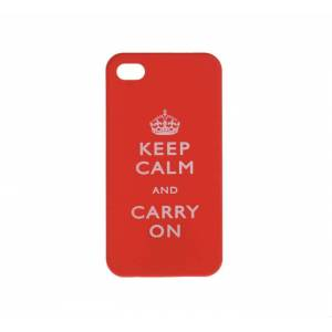 Keep Calm And Carry On iphone 4 / 4s Kapak