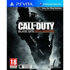 CALL OF DUTY BLACK OPS DECLASSIFIED PS VITA