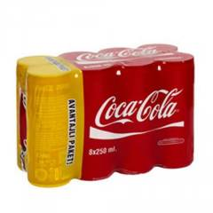 Coca Cola 8 X 250 Ml Kutu