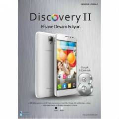 General Mobile Discovery 2 16Gb Beyaz Cep Telefo