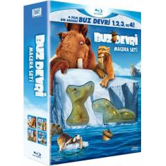 Ice Age 1-2-3-4 Blu Ray Film - Mini Fig�r Hediy